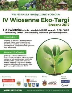 PlakatEko_targi2017_z_herbem_Nowego_Sącza